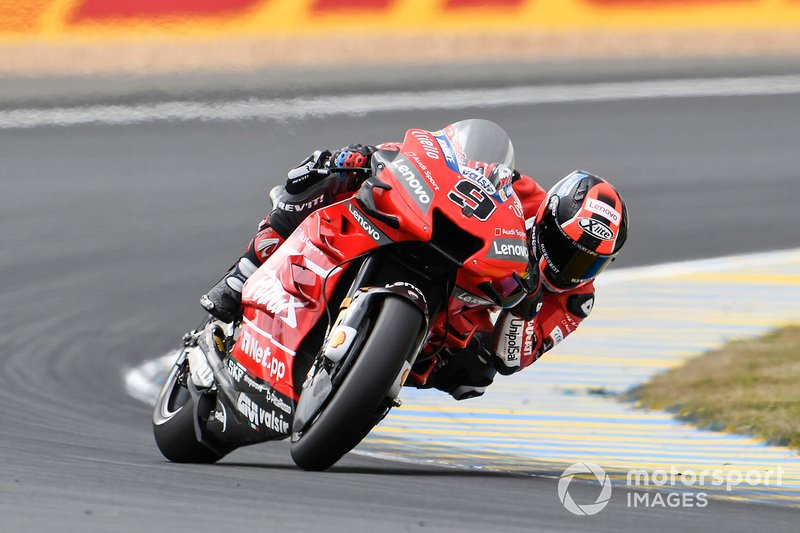 Danilo Petrucci, Ducati Team, slidding