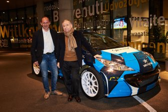 Manfred Stohl and Jean Todt, FIA President