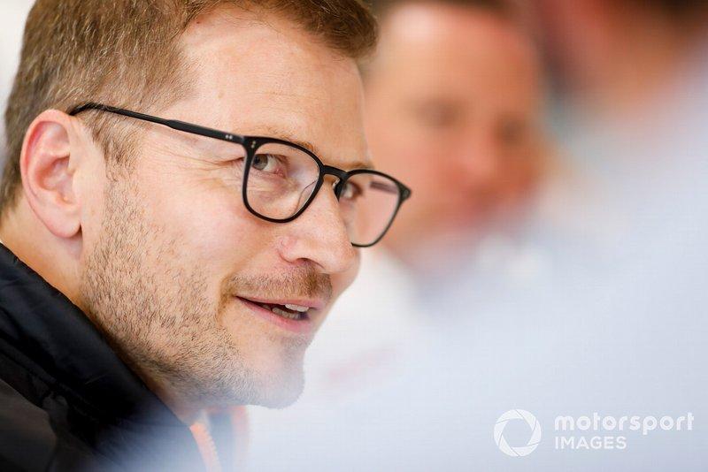 Andreas Seidl, Takım Patronu, McLaren