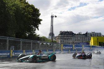 Mitch Evans, Panasonic Jaguar Racing, Jaguar I-Type 3, Sam Bird, Envision Virgin Racing, Audi e-tron FE05
