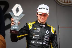 Caio Collet celebrates third in Monaco's race one