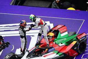 Sébastien Buemi, Nissan e.Dams, Lucas Di Grassi, Audi Sport ABT Schaeffler