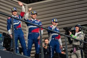 Podium: #11 SMP Racing BR Engineering BR1: Mikhail Aleshin, Vitaly Petrov, Stoffel Vandoorne