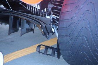 McLaren MCL34 rear detail