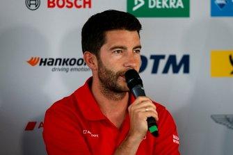 Press Conference, Mike Rockenfeller, Audi Sport Team Phoenix