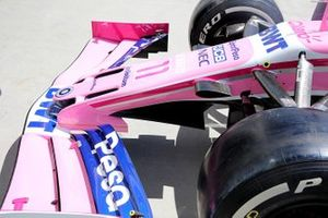 Racing Point nose technical detail