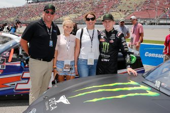 Riley Herbst, Joe Gibbs Racing, Toyota Supra Monster and guests