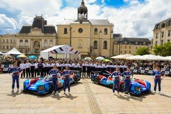 #11 SMP Racing BR Engineering BR1: Mikhail Aleshin, Vitaly Petrov, Stoffel Vandoorne; #17 SMP Racing BR Engineering BR1: Stéphane Sarrazin, Egor Orudzhev, Sergey Sirotkin