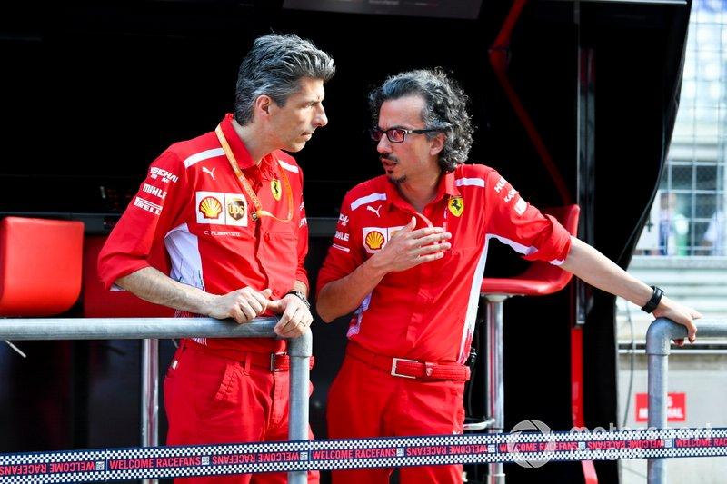Laurent Mekies, Direttore sportivo, Ferrari, al muretto box