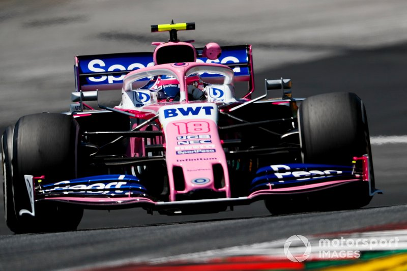 14: Lance Stroll, Racing Point RP19, 1'04.832