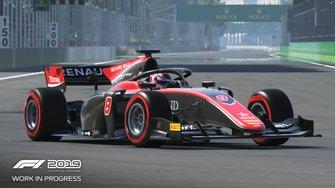 Imagen de la F2 en el 'F1 2019'