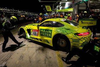 #48 Mercedes-AMG Team Mann Filter Mercedes AMG GT3: Christian Hohenadel, Lance David Arnold, Raffaele Marciello