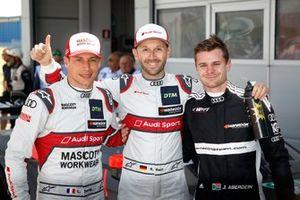 Polesitter René Rast, Audi Sport Team Rosberg, Loic Duval, Audi Sport Team Phoenix, Jonathan Aberdein, Audi Sport Team WRT