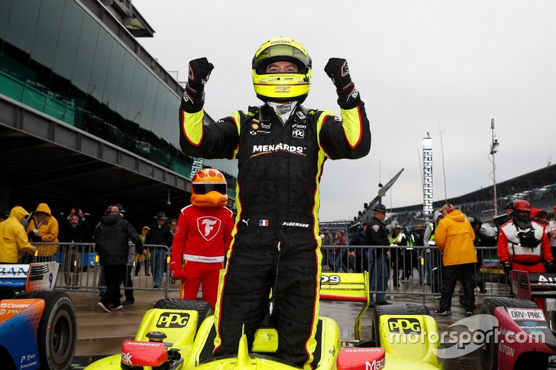 Winnaar Simon Pagenaud, Team Penske Chevrolet