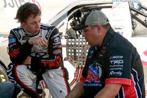 Brandon Jones, Kyle Busch Motorsports, Toyota Tundra Chigo/Menards, Rudy Fuggle