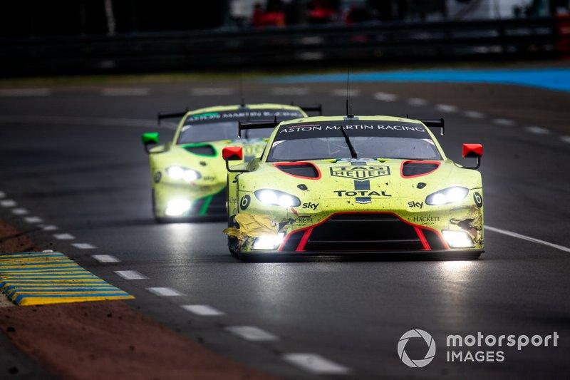 #95 Aston Martin Racing, Aston Martin Vantage: Nicki Thiim, Marco Sorensen, Darren Turner