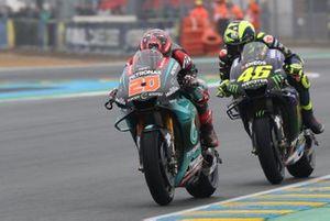 Fabio Quartararo, Petronas Yamaha SRT, Valentino Rossi, Yamaha Factory Racing