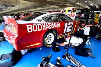 Ryan Blaney, Team Penske, Ford Mustang BodyArmor