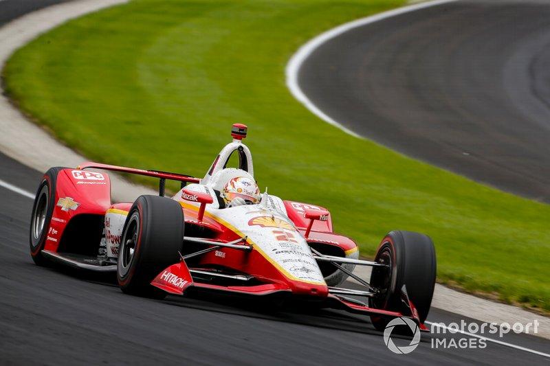 Platz 4: Josef Newgarden, Team Penske Chevrolet