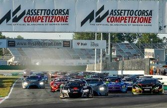 Start der Blancpain-Sprint-Series 2019 in Misano