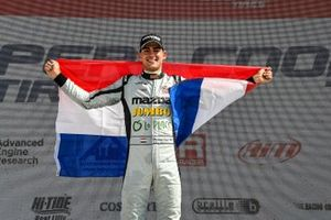 Race Winner Rinus Veekay