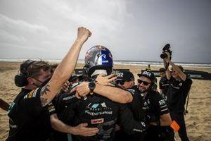 Johan Kristoffersson, Rosberg X Racing, célèbre sa performance