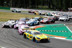 Start der DTM 2021 in Monza: Vincent Abril, Haupt Racing Team Mercedes AMG GT3, führt
