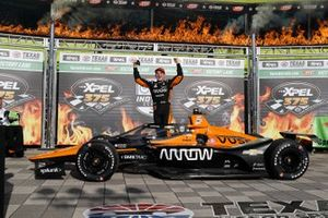 Race winner Patricio O'Ward, Arrow McLaren SP Chevrolet