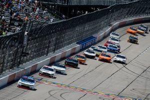 Austin Cindric, Team Penske, Ford Mustang Car Shop, A.J. Allmendinger, Kaulig Racing, Chevrolet Camaro Hyperice