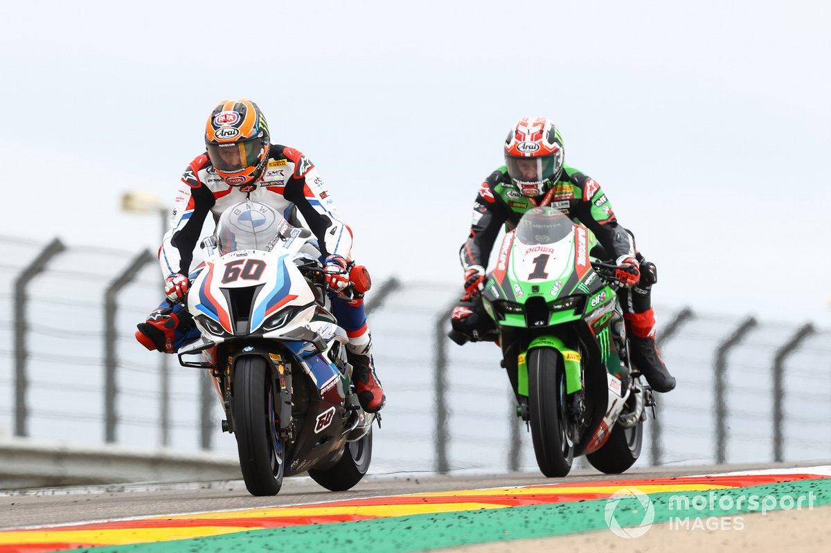 Michael van der Mark, BMW Motorrad WorldSBK Team, Jonathan Rea, Kawasaki Racing Team WorldSBK