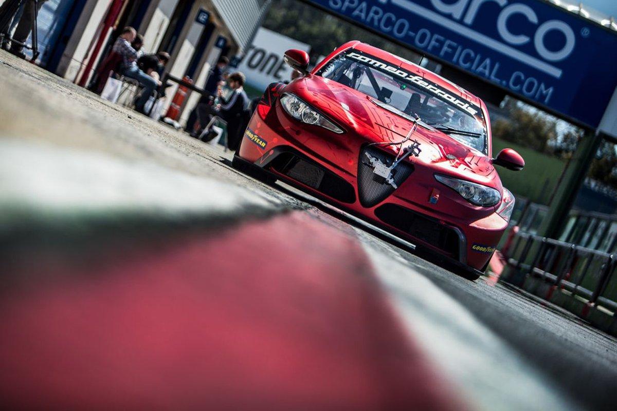 Stefano Coletti, Luca Filippi, Romeo Ferraris, Alfa Romeo Giulia ETCR