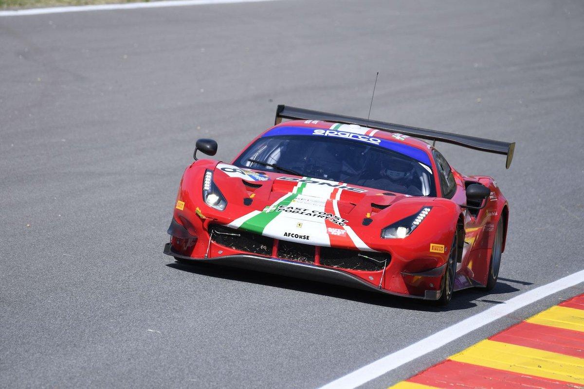 #8 AF Corse, Ferrari 488 GT3 Evo: Carrie Schreiner, Sean Hudspeth, Antonio Fuoco