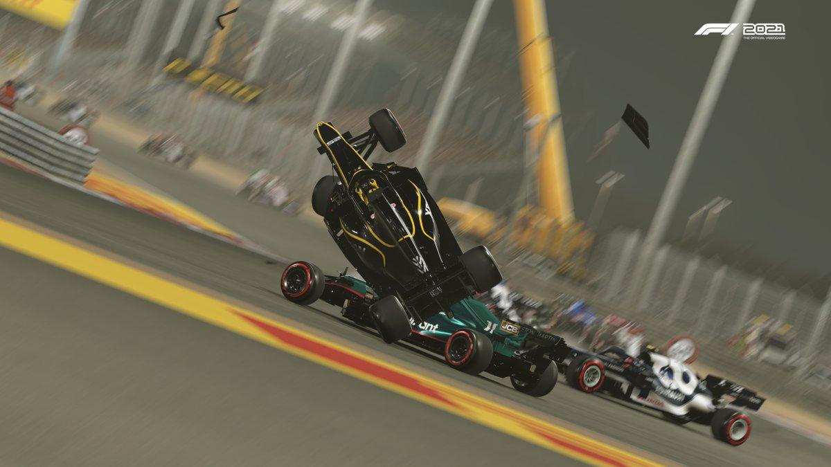Captura de pantalla de F1 2021