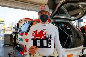 100. WRC-Start für Elfyn Evans
