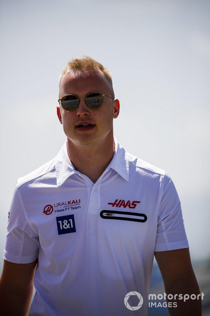 Nikita Mazepin, Haas F1, recorre la pista del GP de Estiria