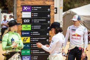 Mikaela Ahlin-Kottulinsky, JBXE Extreme-E Team, Jamie Chadwick, Veloce Racing and Kevin Hansen, JBXE Extreme-E Team