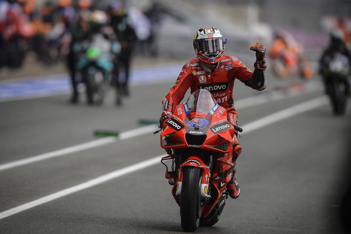 Jack Miller, Ducati Team en pitlane