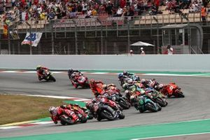 Jack Miller, Ducati Team, en tête au départ