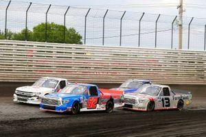 Jessica Friesen, Halmar Friesen Racing, Toyota Tundra Halmar International, Johnny Sauter, ThorSport Racing, Toyota Tundra AHI Facility Services, Inc.