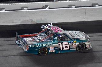 Winner Austin Hill, Hattori Racing Enterprises, Toyota Tundra CHIBA Toyopet