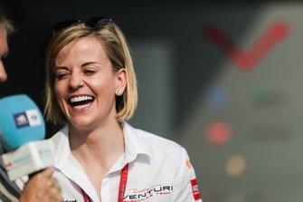 Susie Wolff, directora del equipo, Venturi Fórmula E