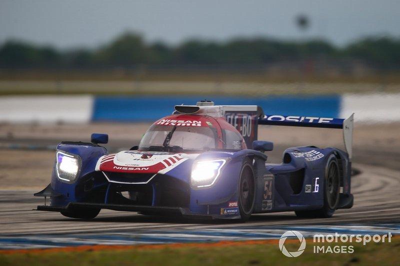 #54 CORE autosport Nissan DPi, DPi: Jonathan Bennett, Colin Braun, Romain Dumas