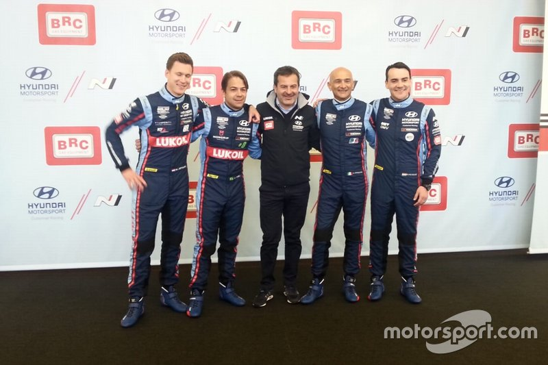 Nick Catsburg, Augusto Farfus, Gabriele Tarquini, Norbert Michelisz, BRC Racing Team