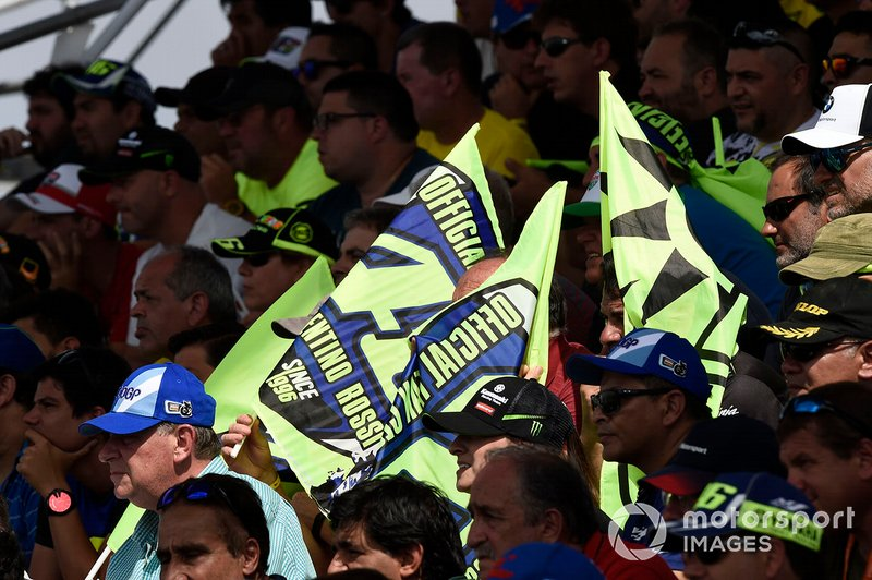 Valentino Rossi, Yamaha Factory Racing fans