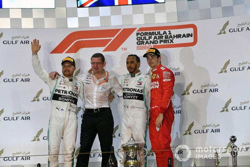 Tercero en el GP de Bahréin