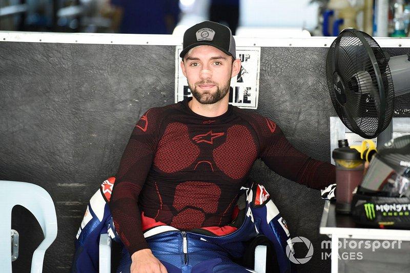 Jonas Folger, Yamaha piloto de pruebas