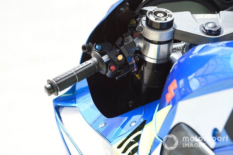 Suzuki GSX-RR: Lenker
