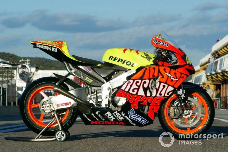 Repsol Honda (Valentino Rossi - GP Valencia 2003)