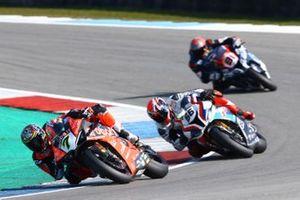 Chaz Davies, Aruba.it Racing-Ducati Team, Tom Sykes, BMW Motorrad WorldSBK Team, Jordi Torres, Team Pedercini