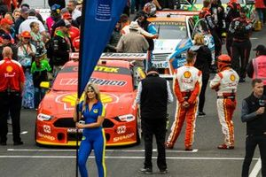 Scott McLaughlin, DJR Team Penske Ford on the starting grid